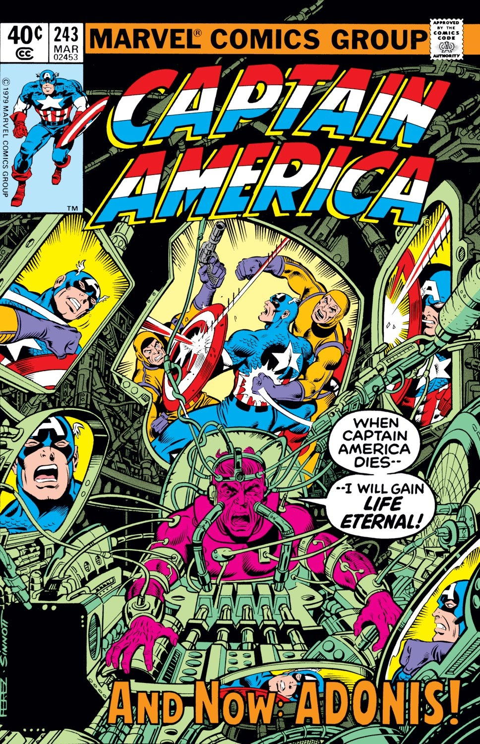 Captain America (1968) Issue #243 #158 - English 1