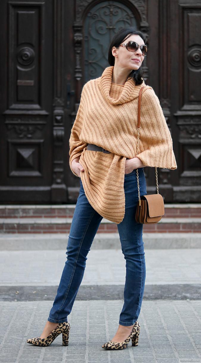 modne ponczo blog o modzie
