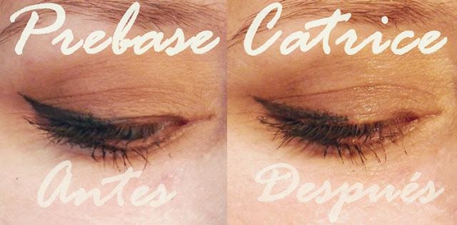 Comparativa Prebasea sombras ojos catrice prime and fine
