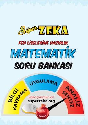 8. Sınıf Süper Zeka Matematik Soru Bankası PDF