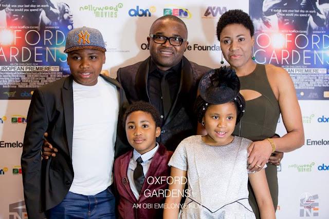 Obi Emelonye and Family