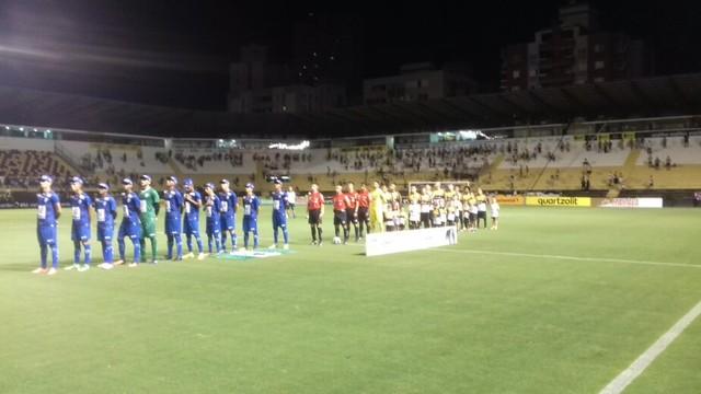 Altos consegue empate no final com Criciúma, mas sofre derrota nos pênaltis e está fora da Copa do Brasil.