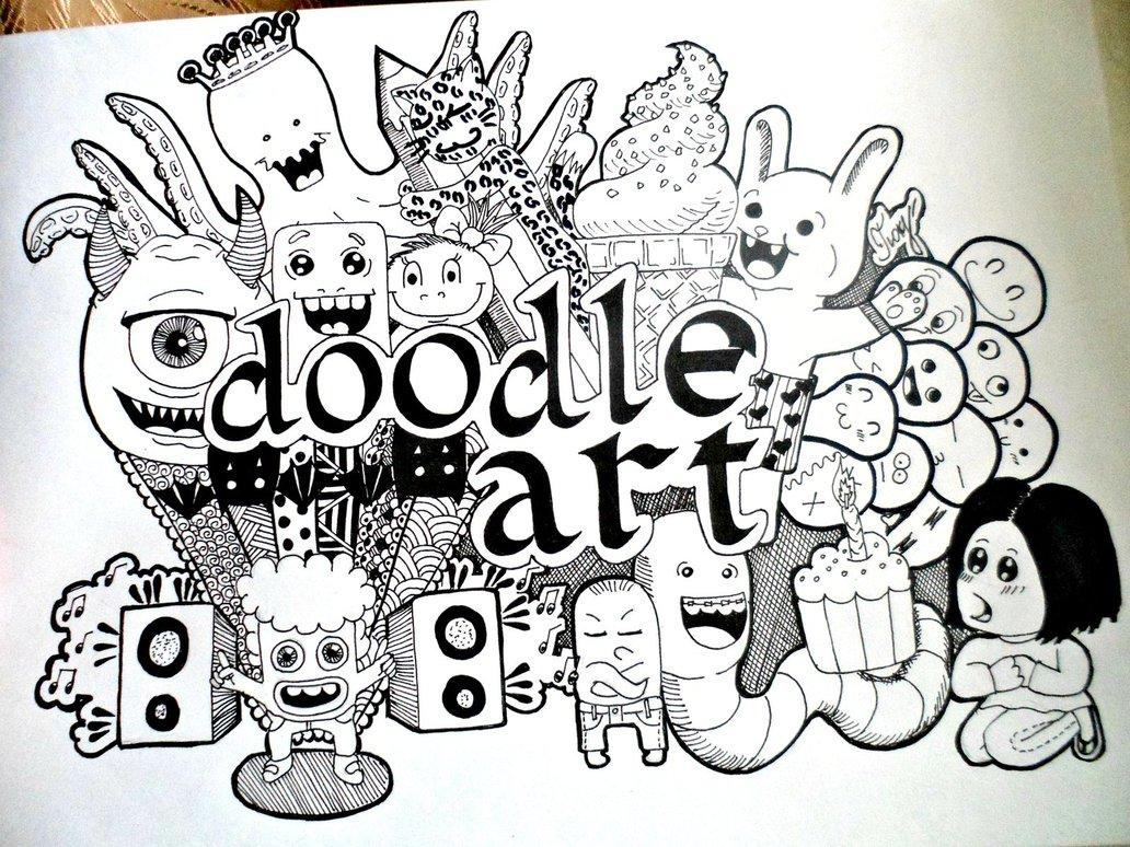 Koleksi Unduh Apk Doodle Art