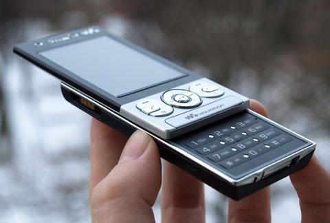 Điện thoại Sony Ericsson W705_4