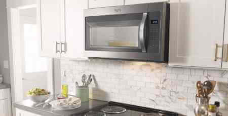 whirlpool microwave wmh31017as