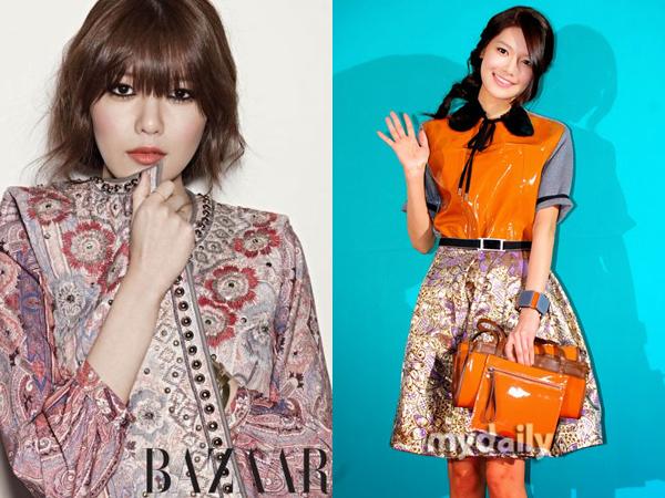 artis korea memakai batik