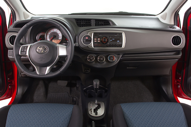 2012 Yaris SE Interior - Subcompact Culture