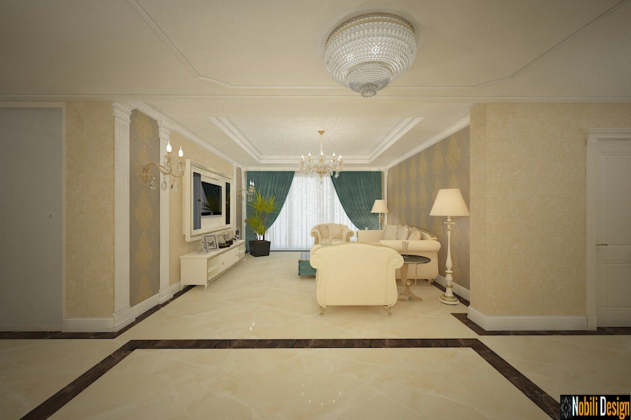 Design interior case stil clasic de lux in Constanta - Arhitect amenajari interioare Constanta.