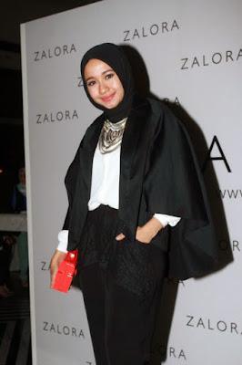 Artis cantik Hijab laudya cynthia bella tutorial hijab