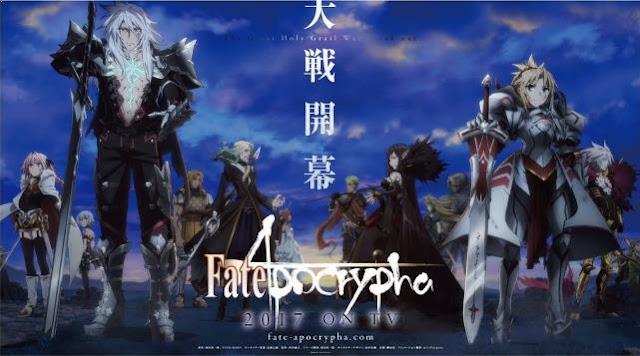 Fate/Apocrypha - Anime Tokoh Utama Menggunakan Pedang