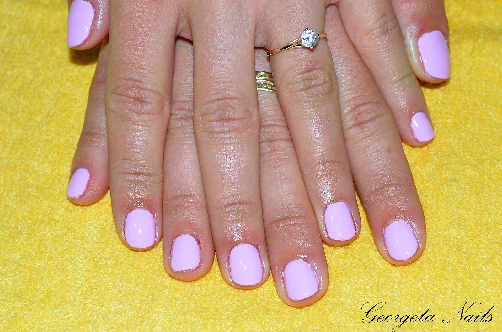 Georgeta Nails Unghii Gel Pitesti Modele Oja Semipermanenta By