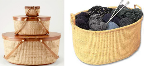 Nantucket style baskets