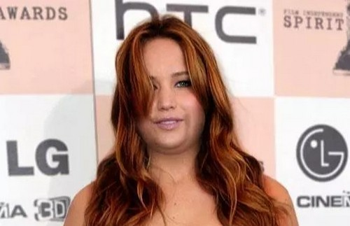 model rambut panjang untuk orang gemuk