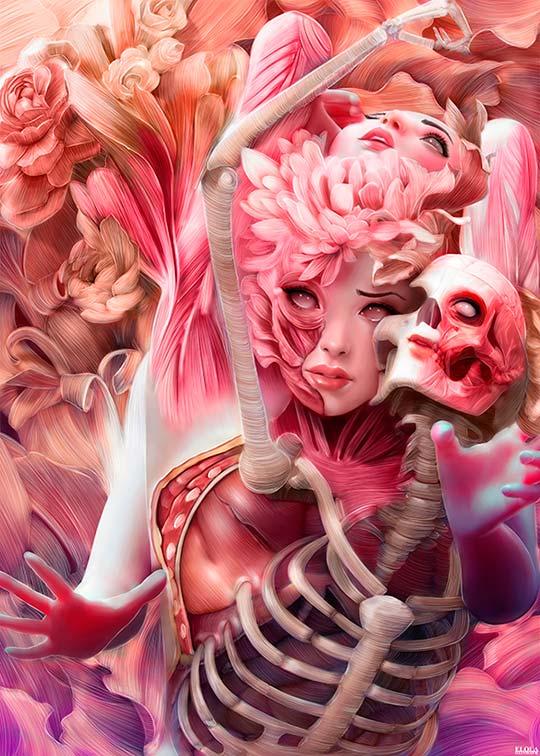 Ilustración de ALFONSO ELOLA. Arte digital de gran calidad