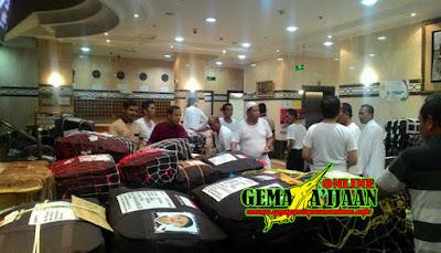 Calon Haji Kotabaru Meninggalkan Madinah