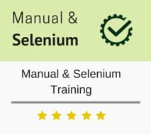 Manual and Selenium Training