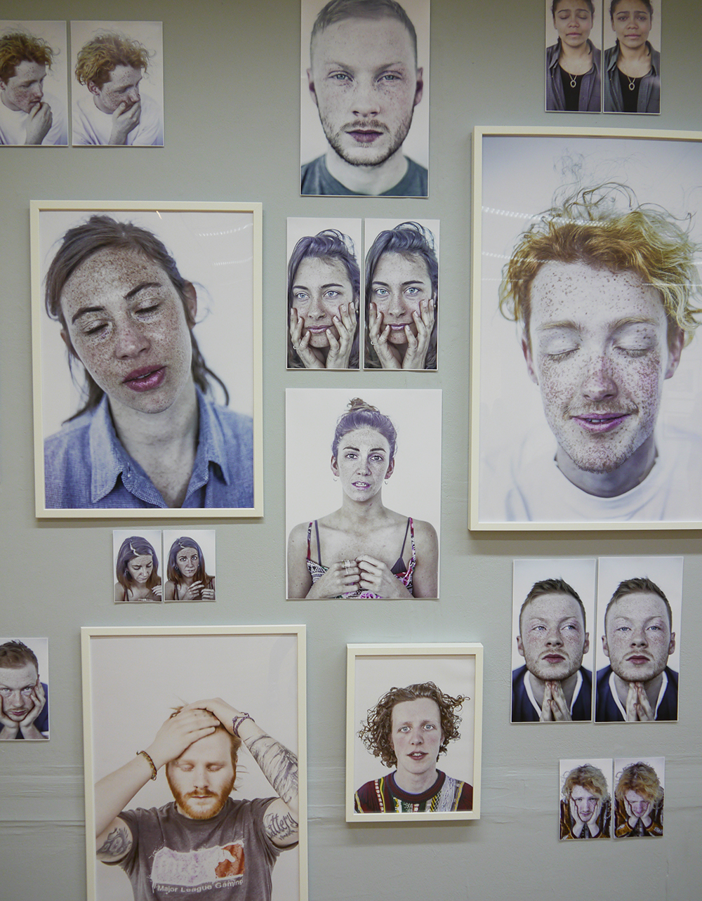 Top Five, best bits, degree show picks, dundee, Dundee blogger, Scottish blogger, Scottish art school, Fine Art, photography, portrait photography, natural light photography, faces with freckles, red heads, curly hair