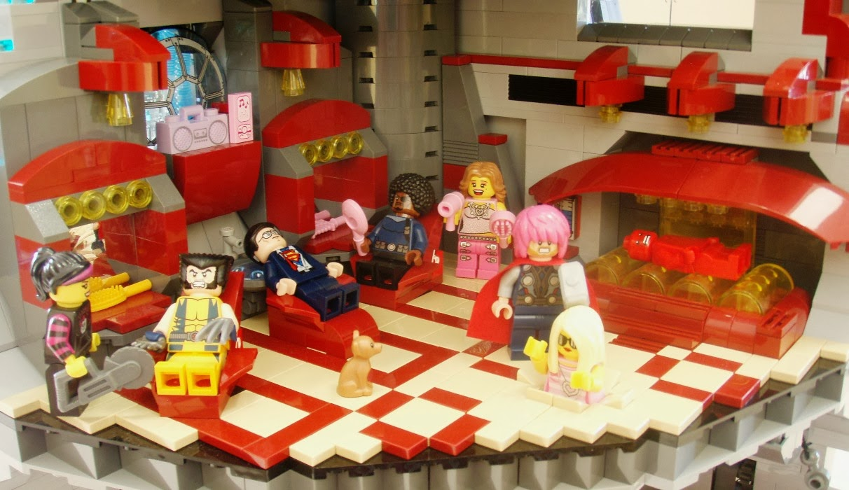The Brickverse Super Heroes Invade The Death Star