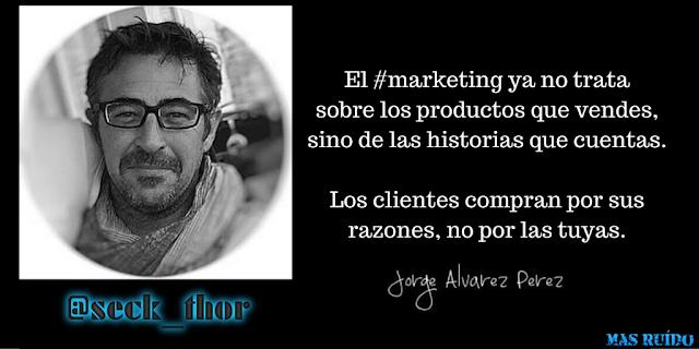 El marketing de contenidos por Jorge Álvarez