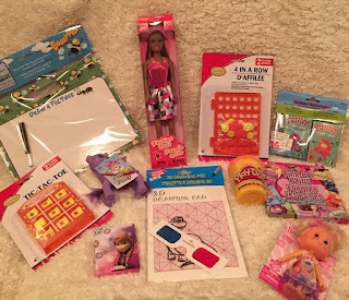 Travel made easier--girls activities for the car or plane trip