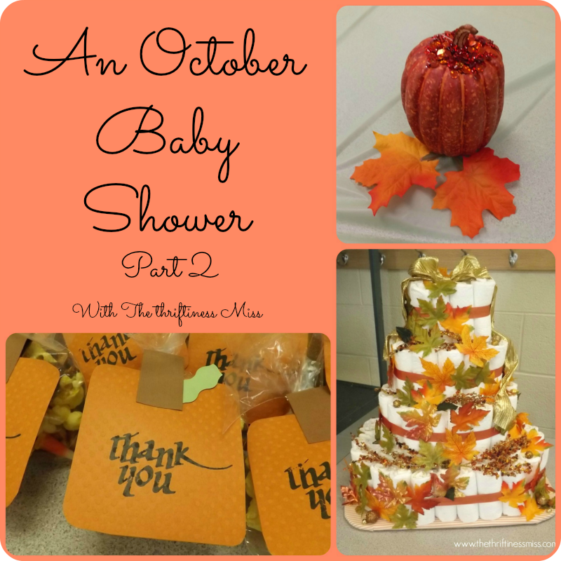 Baby Shower Food Ideas: Baby Shower Ideas In October