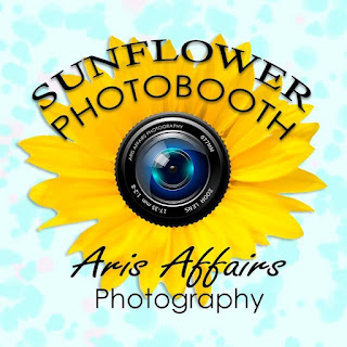The Sunflower Photobooth by Aris Affairs Photography is the sure way to spice up your holiday party in Prescott.