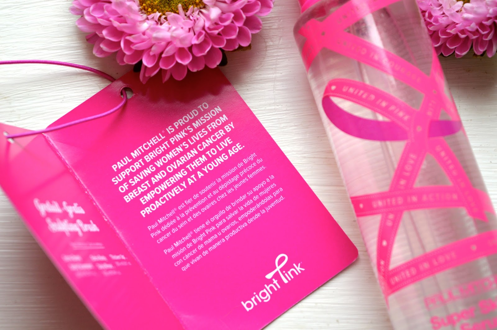 Paul Mitchell United in Pink, beauty bloggers, Hampshire bloggers, Dalry Rose Blog, tips on how to spot cancer