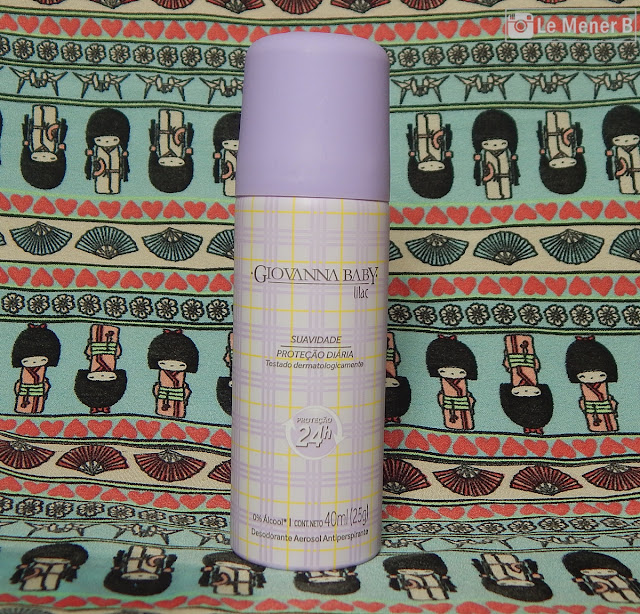 desodorante giovanna baby lilac