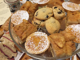 Cakes at the Regency tea at the Stur of the Moment tearooms