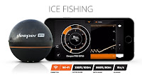 Deeper App Flasher Screen for Ice Fishing with the Deeper Smart Sonar PRO+/Pro