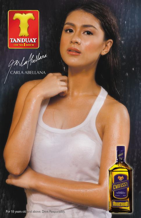 carla abellana sexy tanduay calendar pics 01