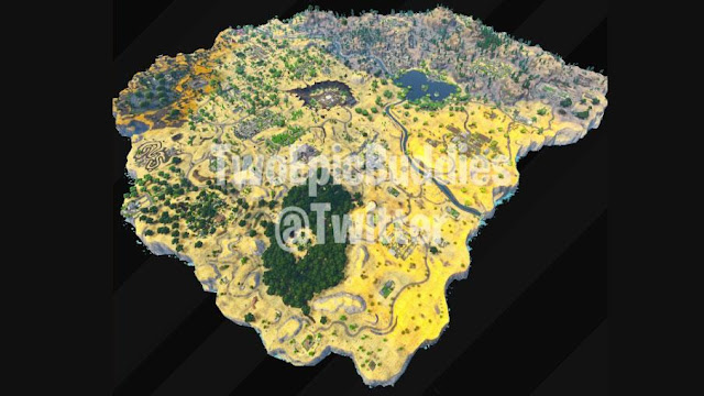 الموسم الخامس للعبة Fortnite سيغير من خريطة طور الباتل رويال و إليكم التفاصيل بالصور من هنا …