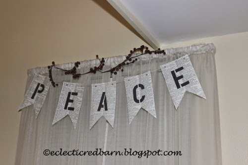 Eclectic Red Barn: Peace book banner