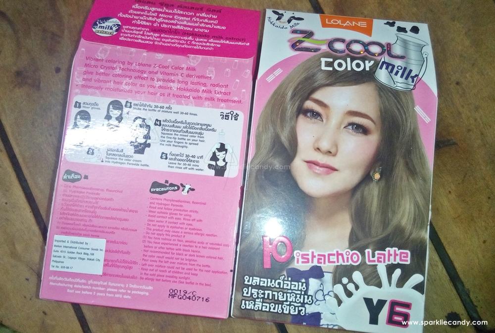 My Name Is Chien Review Lolane Z Cool Color Milk Y6 Pistachio Latte
