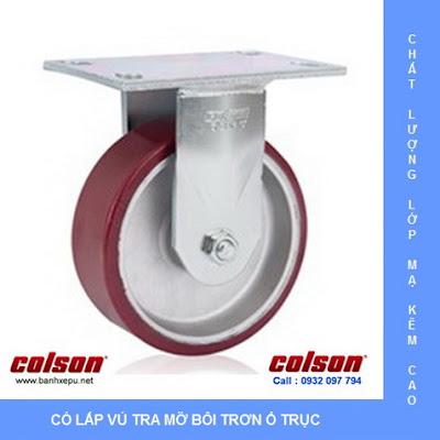 Bánh xe công nghiệp PU Colson chịu lực 540kg 6 inch | 6-6208-939 banhxedayhang.net