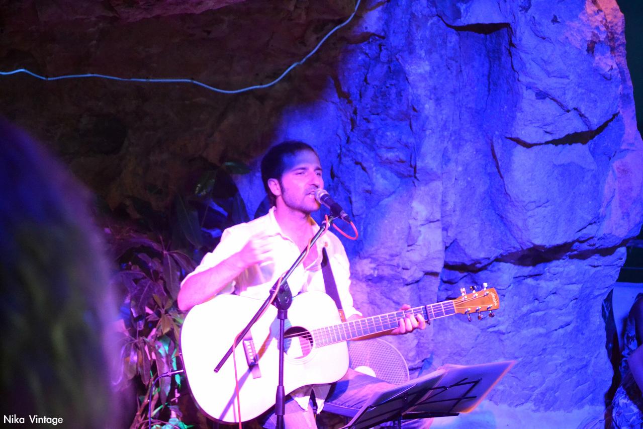 Atardecer, La Cova d'en Xoroi, concierto