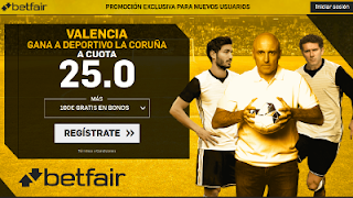betfair supercuota Valencia gana a Deportivo 20 mayo