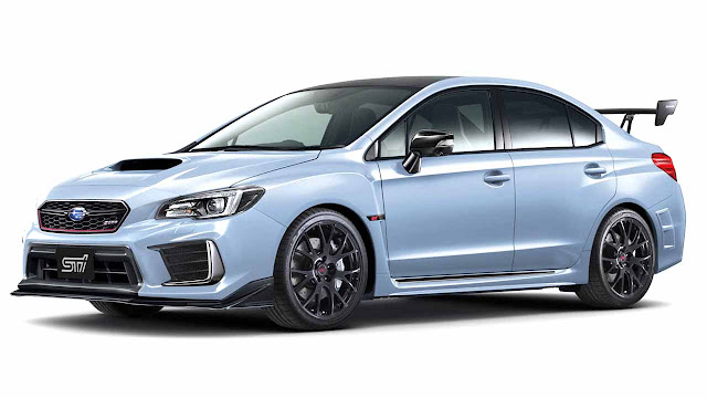 Subaru WRX STI S208 limited edition for Japan only