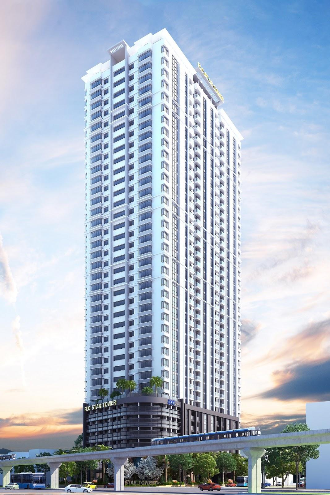 Phối cảnh dự án FLC Star Tower Hà Đông