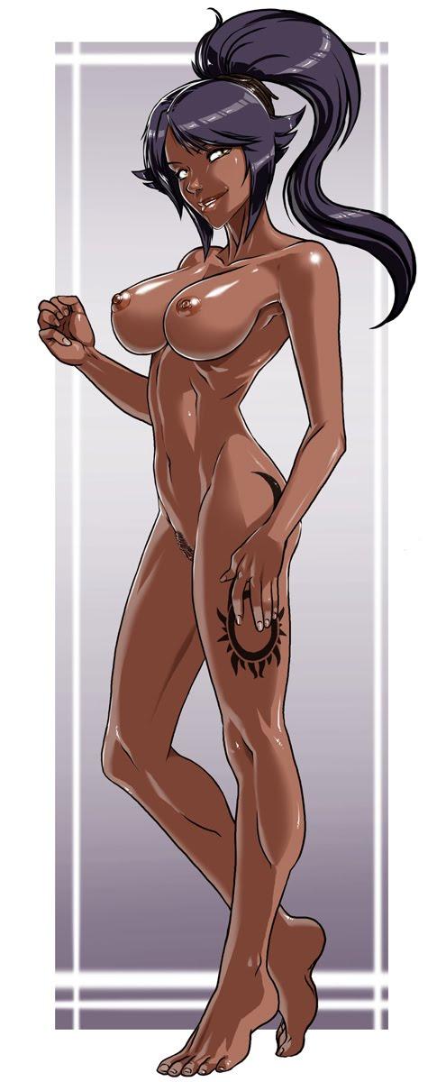 Yoruichi naked