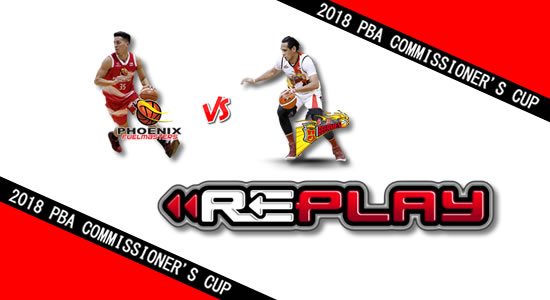 Video Playlist: Phoenix vs SMB game replay May 30, 2018 PBA Commissioner's Cup