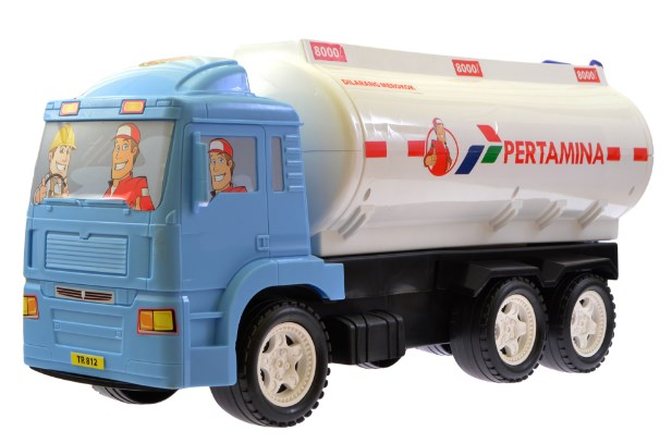 truk miniatur pertamina