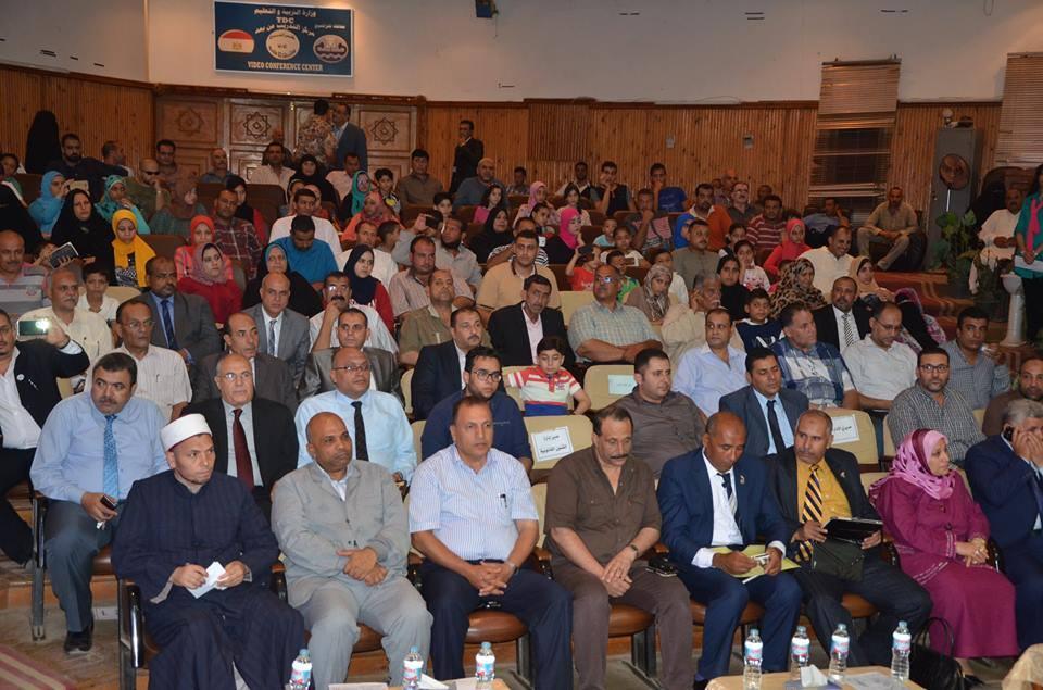 محافظ كفرالشيخ يشهد احتفال التربيه والتعليم بذكري ثورة يونيو