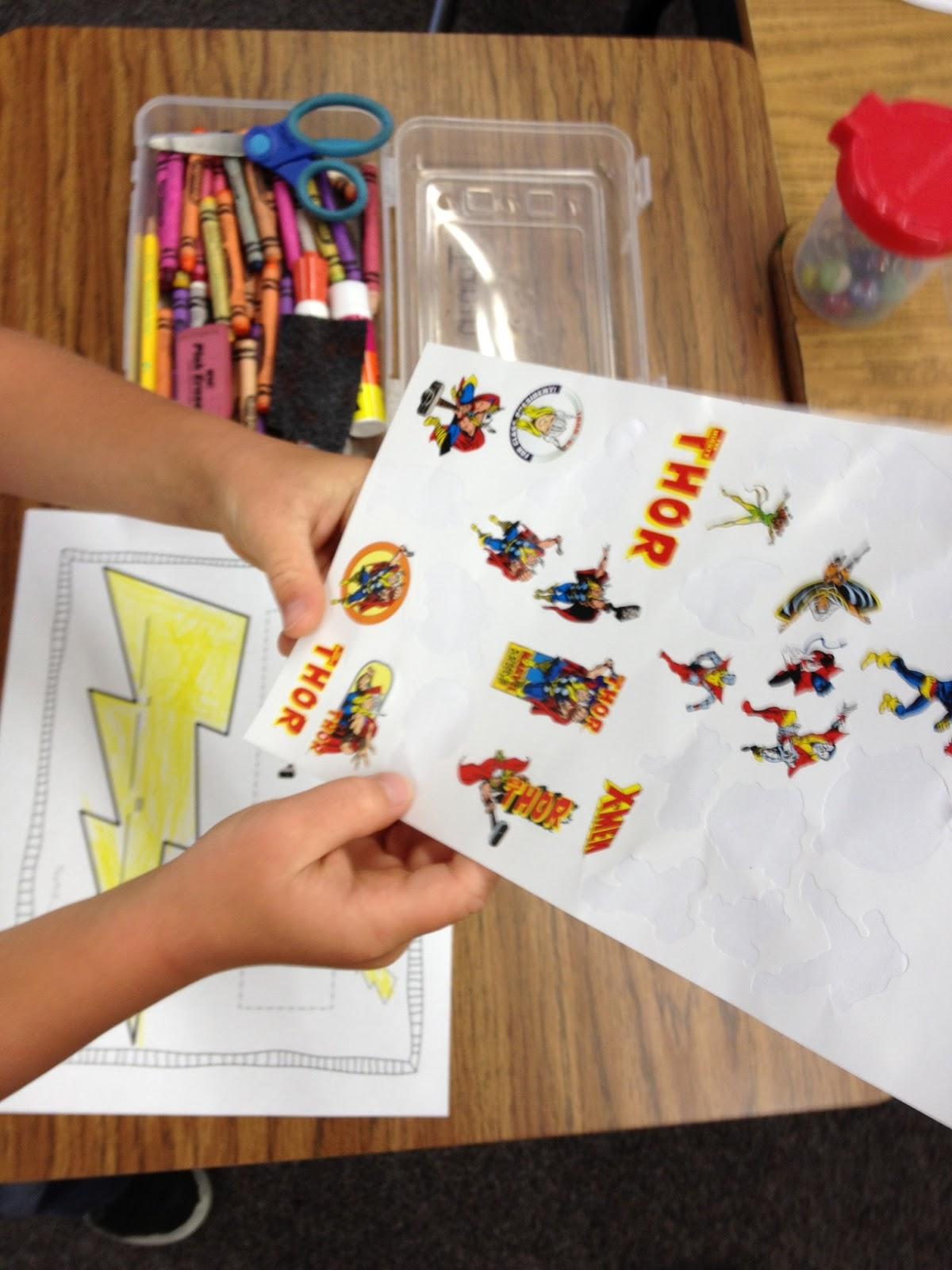 Superhero Subtraction And Building Words