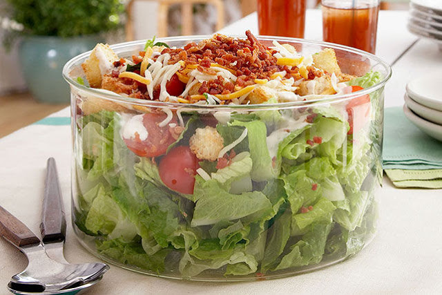 Weight Watchers BLT Salad - 5 Smartpoints