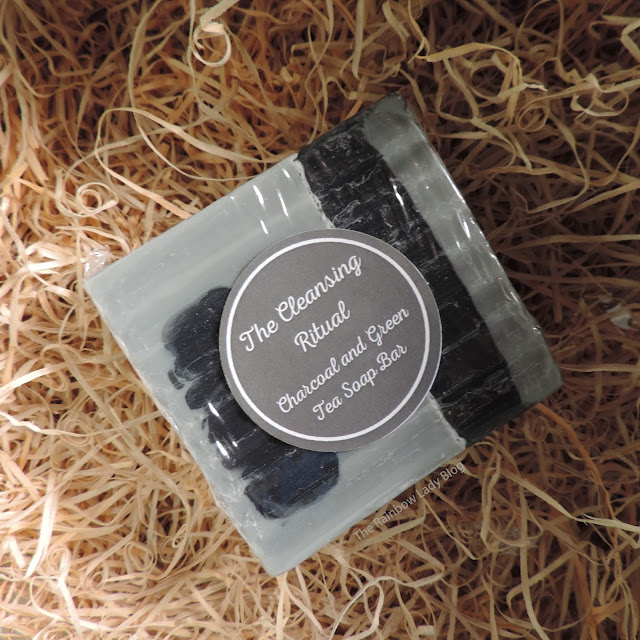 The Cleansing Ritual from The Herb Boutique || A Charcoal and Green Tea Soap Bar