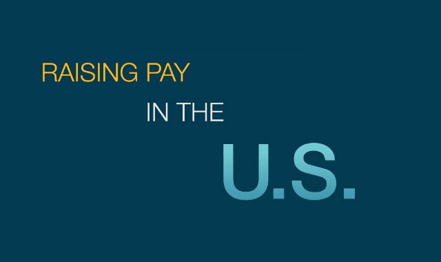 Raising Pay In The US