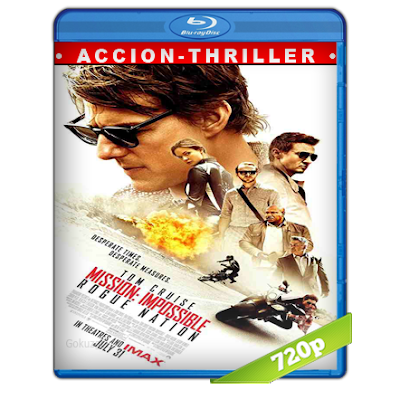 Mision Imposible 5 Nacion Secreta (2015) BRRip 720p Audio Trial Latino-Castellano-Ingles 5.1