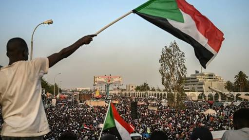 Protests Like Never Before Outside Sudan Defense Ministry Demanding For  Civilian Rule
