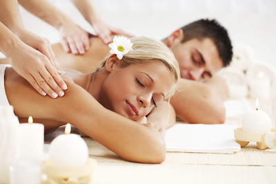 Couple Deep Tissue Massage